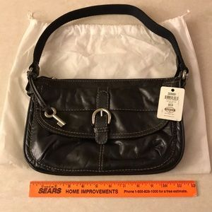"NWT! Fossil ""Lizette"" Top Zip Bag"